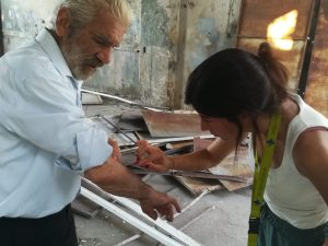 Embedded glass is common after Beirut blast