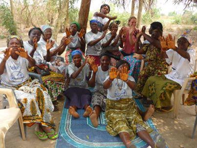 Kekeli traditional birth attendants and aussi midwife