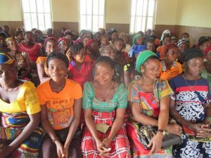 Ephuenyim Health Center ante-natal day